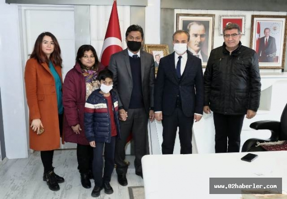 Büyükelçi Hassen'den, Başkan Kılınç'a Ziyaret