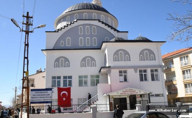 Gölbaşı İlçesinde Hacı Gani Diler Camii İbadete Açıldı