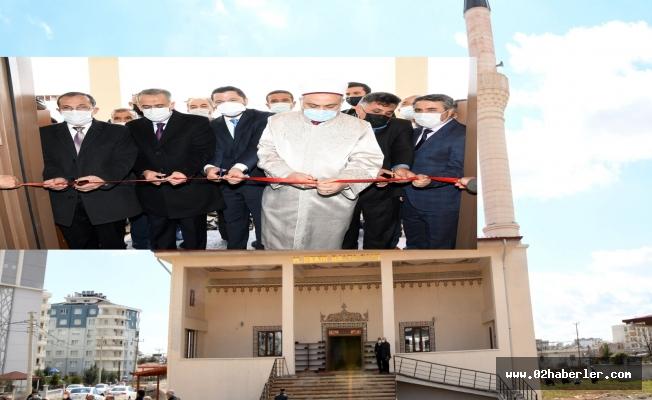Hacı Bekir Balta Camii Dualarla İbadete Açıldı