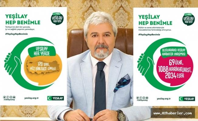 """Yeşilay Haftası """"Yeşilay Hep Benimle"""" Sloganıyla Kutlanıyor"""