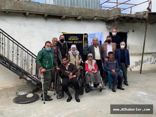 3 Engelli Kardeş Akülü Tekerlekli Sandalyelerine Kavuştu