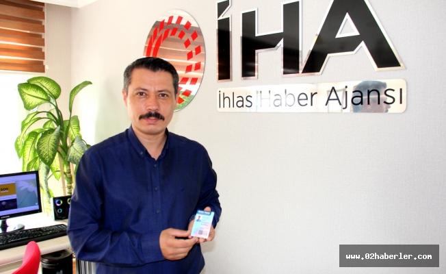 Gazeteci Ahmet Arslantaş 'Sürekli Basın Kartı' sahibi oldu