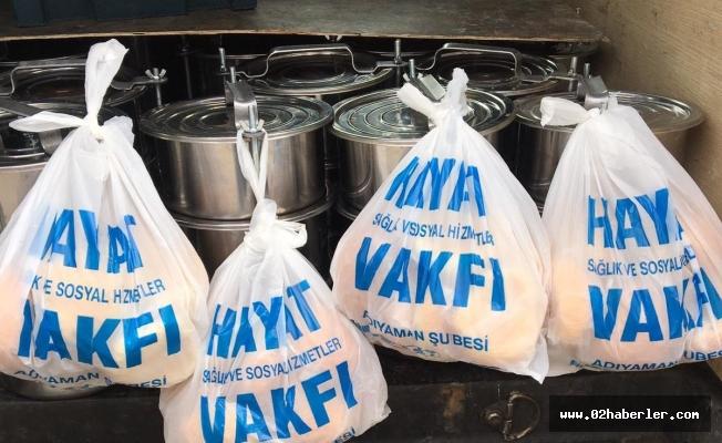 Hayat Vakfın'dan Ramazan'da da Sıcak Yemek