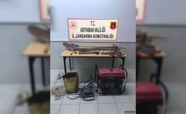 Kaçak Kazı Yapanlara Jandarmadan Suçüstü