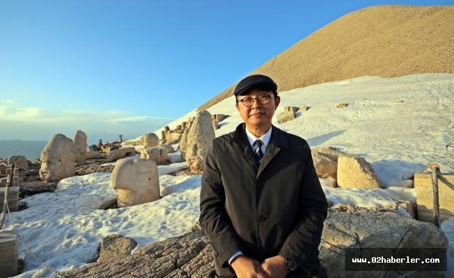 Kore Büyükelçisi Lee Nemrut Dağına Hayran Kaldı