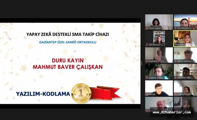Sanko Okulları Öğrencileri Türkiye Birincisi Ve İkincisi Oldu