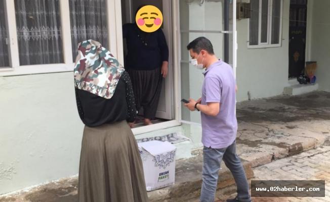 Tut İlçesinde İhtiyaç Sahiplerine Ramazan Kolisi Dağıtıldı