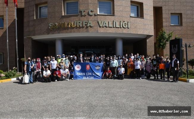 Şanlıurfa, Türkiye'nin Gençlerini Ağırlıyor