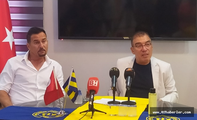 Tarsus İdman Yurdu Başkanı Kırbıyık Basın toplantısı düzenledi