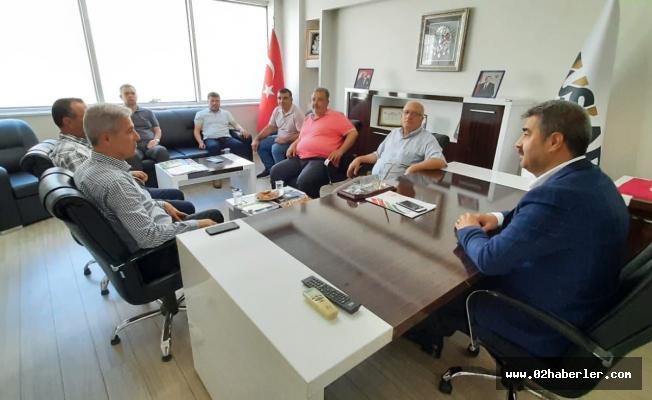 Atalay'dan Başkan Göksu'ya Ziyaret