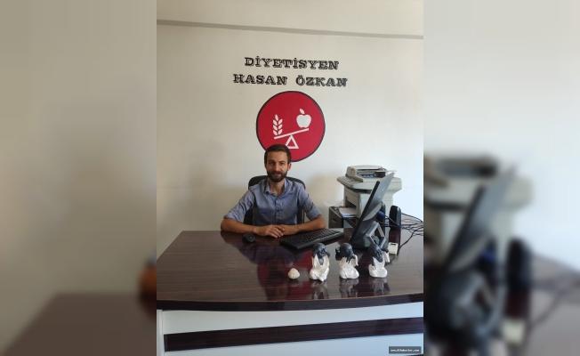 """Diyetisyen Hasan Özkan:  """"Obezite Tedavi Edilebilir Bir Hastalıktır"""""""