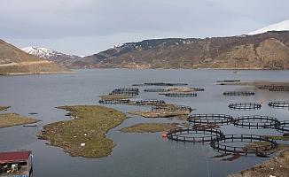 Çelikhan'da Yüzen Adalar Yüzmeye Başladı