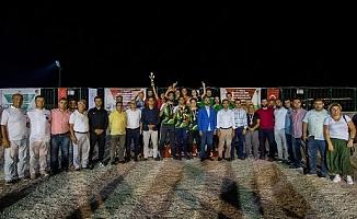Türkiye Petank 1.Lig şampiyonu Mersin oldu