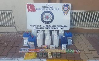 Adıyaman'da Kaçak Nargile Tütünü Operasyonu