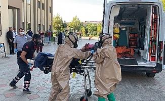 Adıyaman'ın Kahta ilçesinde gaz paniği