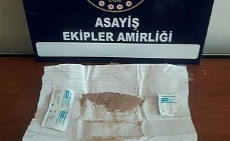 Adıyaman'da Uyuşturucu Operasyonu: 1 Gözaltı