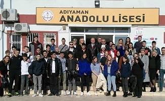 Adıyaman Anadolu Lisesi, AB Erasmus Projesi Başlattı
