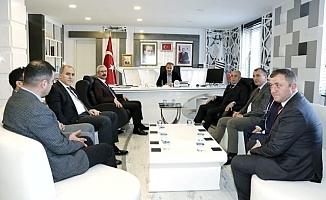 Aydın Doğan'dan Başkan Kılınç'a Ziyaret