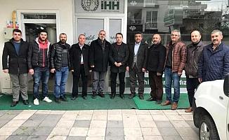 Yeniden Refah Partisi Heyetinden İHH'ya Ziyaret