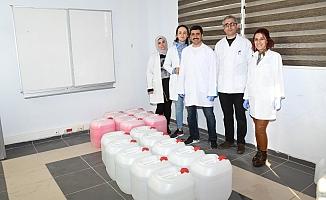 ADYÜ'de Koronavirüs'e Karşı Antibakteriyel El Dezenfektanı Üretildi