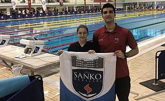 Sanko Okulları Yüzücüsü Milli Takımda