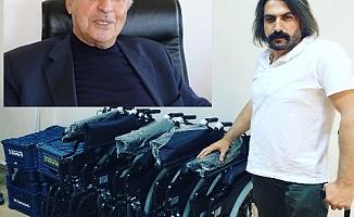 Hayırsever Taşar'dan Kahta'ya 5 Tekerlekli Sandalye