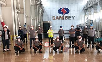 Sanibey Barajına TSE Covıd-19 Güvenli Üretim Belgesi