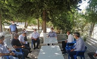 Tütün Kooperatif Çalışmaları Hakkında Üreticilerle Toplantı Yapıldı