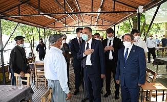 Vali Çuladar'dan Tut İlçesine Ziyaret