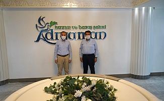 Başkan Göksu'dan, Başkan Kılınç'a Ziyaret