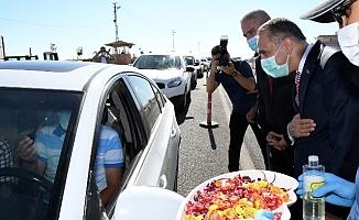 Vali Çuhadar, Trafik Tedbirlerini Denetledi