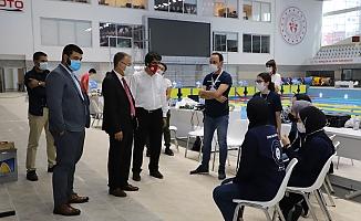 Rektör Dağlı, Yarışmalara Katılan Takımları Ziyaret Etti