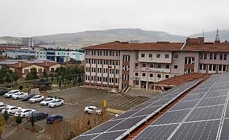Mimar Sinan MTA Lisesi elektriğini kendisi üretecek