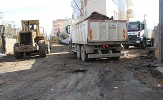 Kahta'da Belediyesi'nden Hummalı Çalışma