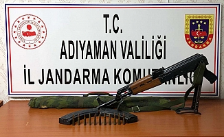 Adıyaman'da Kaleşnikof Silah Ele Geçirildi
