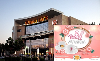 Sanko Park'tan Kadınlar Günü'ne Özel Kahve Fincanı Armağanı