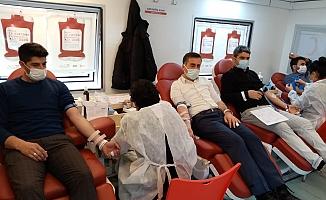 Sincik İlçesinde Kan Bağışı