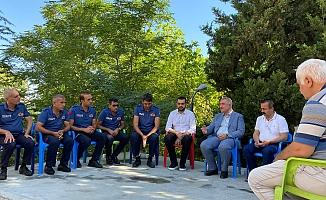 Başkan Turanlı'dan İtfaiye Personellerine Moral Ziyareti