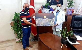 NEFSAD Başkanından Başhekim Parlak'a Ziyaret