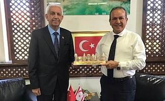 Turizm Elçisi İnandı'dan Bakan Ataoğlu'na Ziyaret