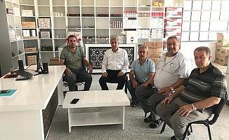 Atalay'dan Marangozlar Sitesi Esnafına Ziyaret