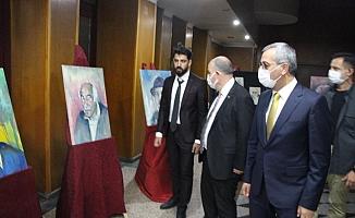 Ressam Yönyol'dan 'Edebiyatımızdan Portreler' İsimli Sergi