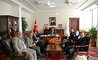 Cemiyet Başkanlarından Vali Kalkancı'ya Ziyaret