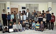 Kaymakam Kuruca'dan Hafızlık Kursu Öğrencilerine Ziyaret