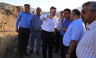 DSİ Genel Müdürü Acu Çetintepe Barajında İncelemelerde Bulundu