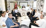 Milletvekillerinden, Başkan Kutlu'ya Ziyaret