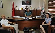 Park Hospital Yöneticilerinden Başhekim Dost'a Ziyaret