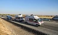 Kahta'da Trafik Kazası: 6 Yaralı