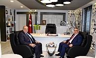 Vali Pekmez'den Başkan Kutlu'yu Ziyaret