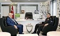 Alper'den Başkan Kutlu'ya Ziyaret